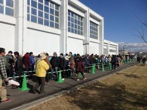 2017年11月19日(日) JA兵庫南ふぁ~みんフェスタ加古川和牛大試食会の行列