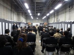 2019年10月19日(土) 加古川食肉センター畜魂祭 畜魂祭参列者