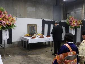 2019年10月19日(土) 加古川食肉センター畜魂祭 祭文 兵庫県健康福祉部 代表者