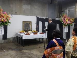 2019年10月19日(土) 加古川食肉センター畜魂祭 祭文 兵庫県食肉卸組合連合会代表者