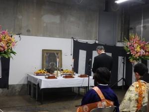 2019年10月19日(土) 加古川食肉センター畜魂祭 祭文 兵庫県食肉生活衛生同業組合 大西理事長