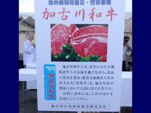 2019年11月17日(日) JA兵庫南ふぁ~みんフェスタ 加古川和牛のパネル