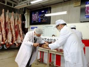 2021年7月16日(金) 神戸肉枝肉共励会 最優秀牛購買者の表彰(全農兵庫県本部・斎藤畜産販売課長)